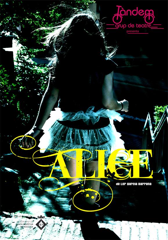 Folletó Alice - Davant
