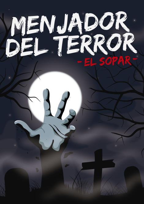 MENJADOR DEL TERROR - El sopar (Mà)-01