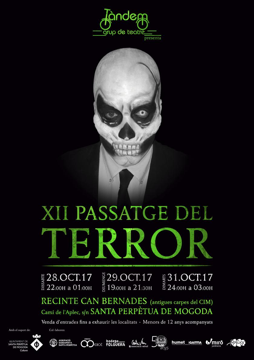 Cartell - XII Passatge del terror