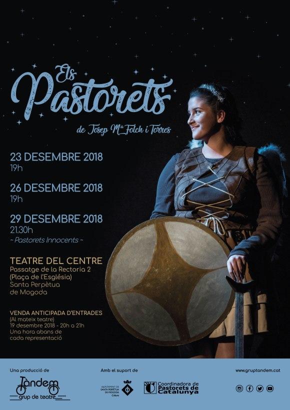 Cartell - Els Pastorets 2018