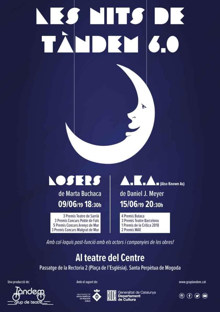Cartell - Les nits de Tàndem 6.0