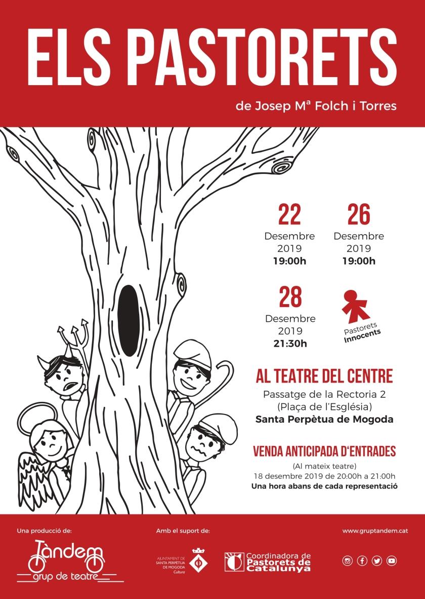 Cartell - Els Pastorets 2019