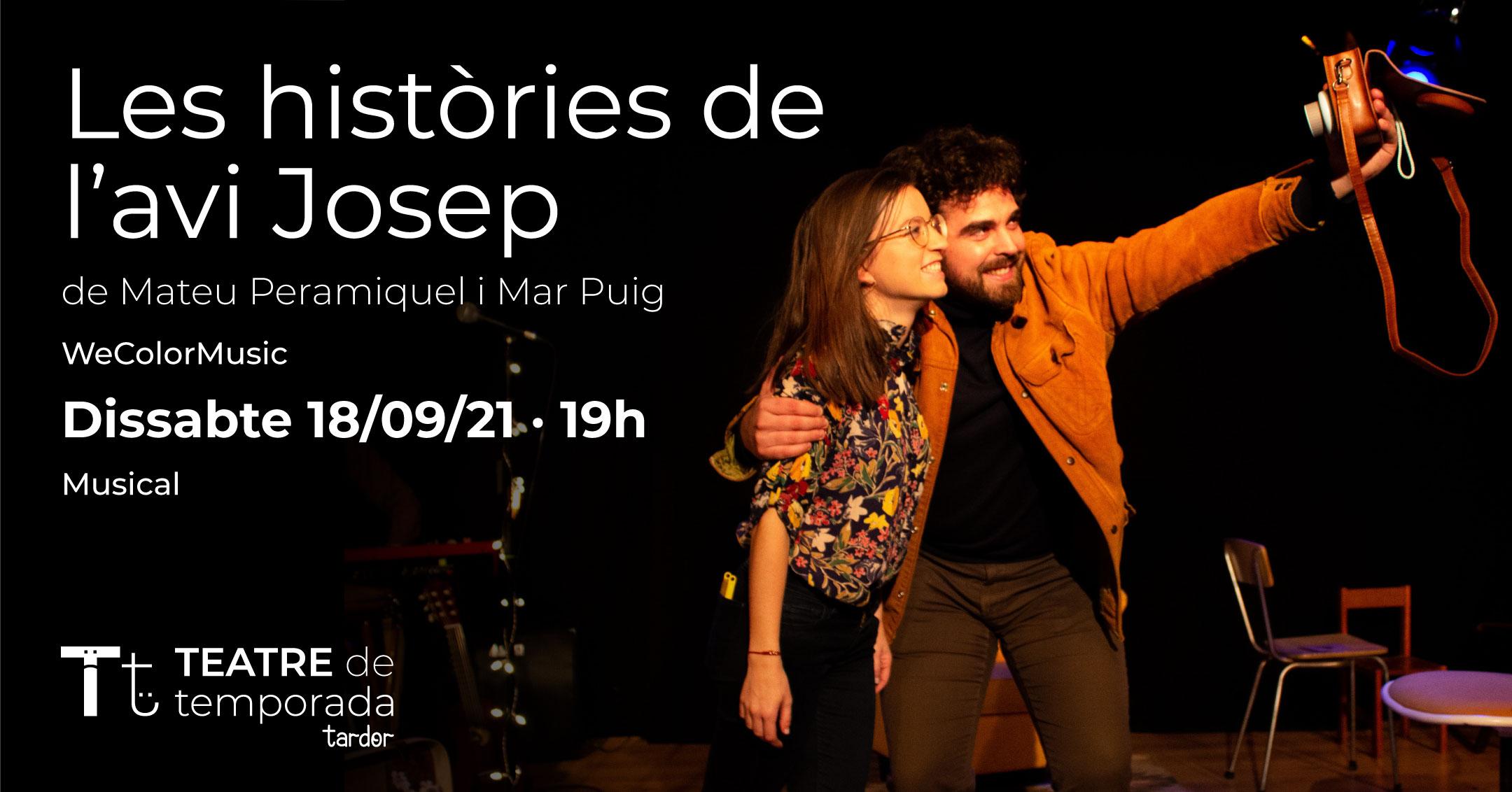 TEATRE de temporada - Les històries de l'avi Josep