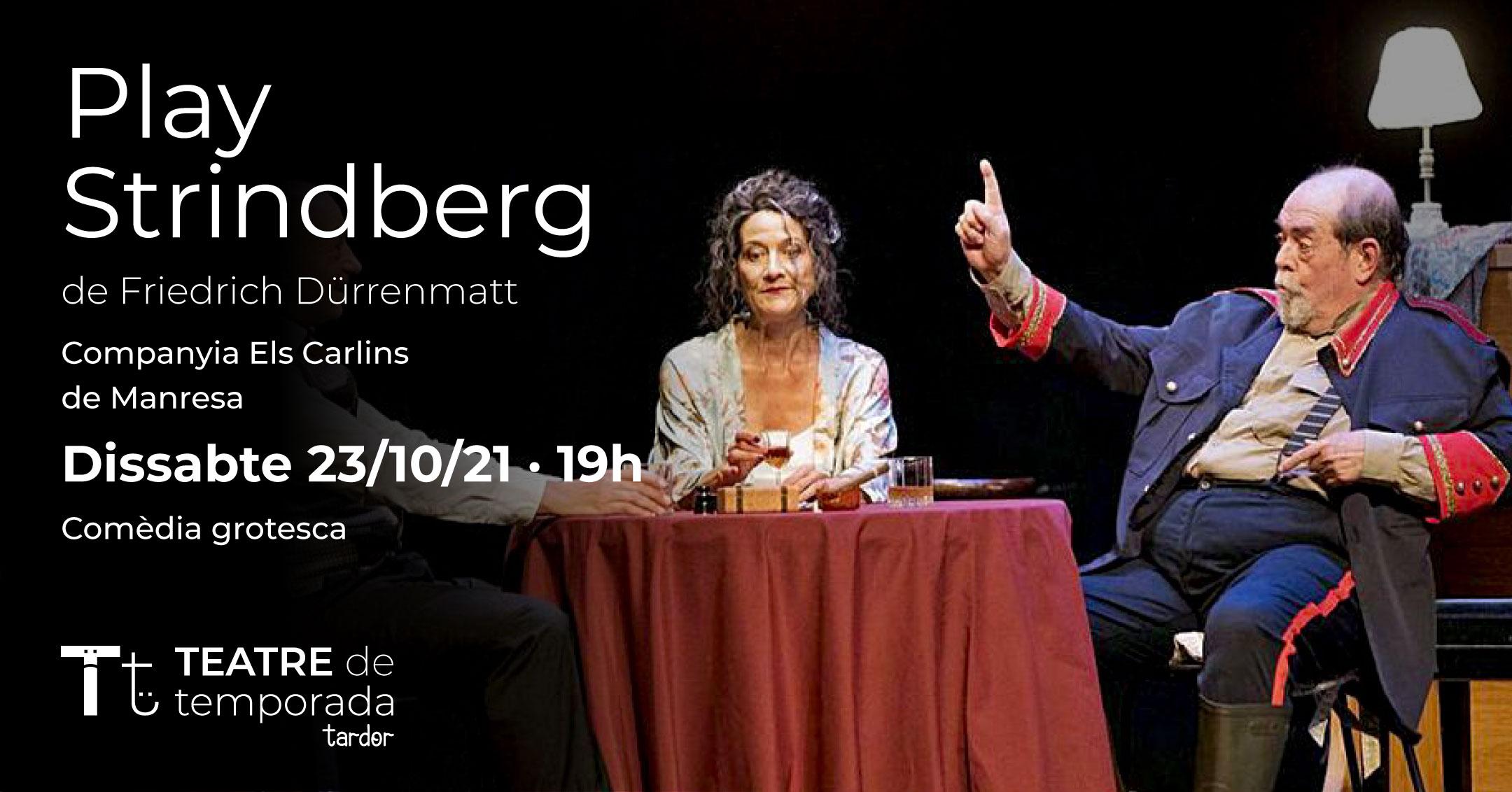 TEATRE de temporada - Play Strindberg